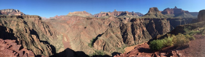 My favorite viewpoint on the South Kaibab trail.