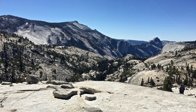 Oh wow!  Oh wow!  Oh wow!  Clouds Rest and Half Dome.
