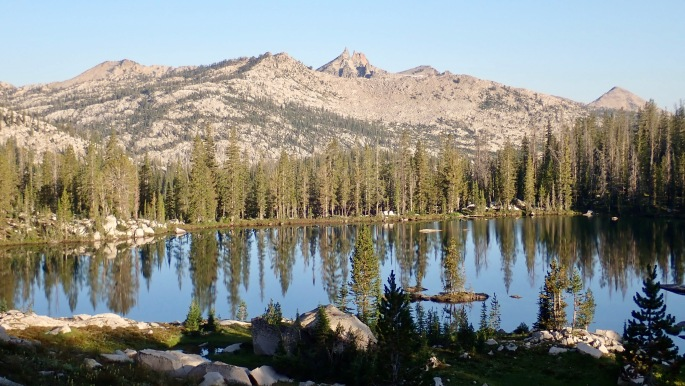 The Sawtooths Wilderness is a land of many pretty lakes.
