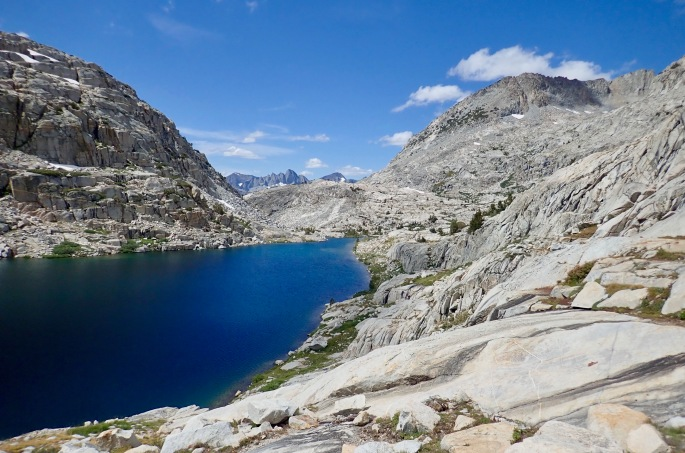 Just one of many high mountain lakes