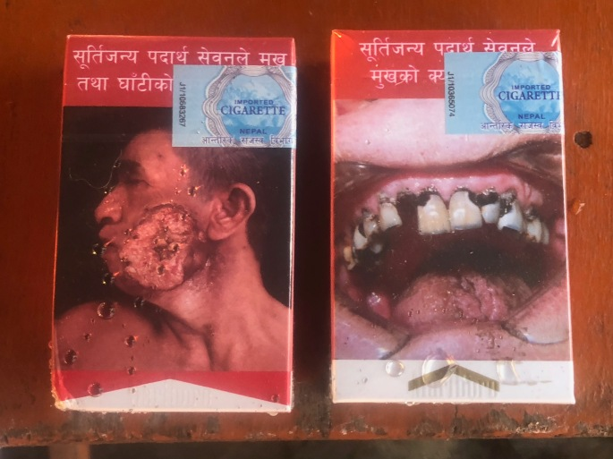 Wanna buy a pack of Marlboros in Nepal?
