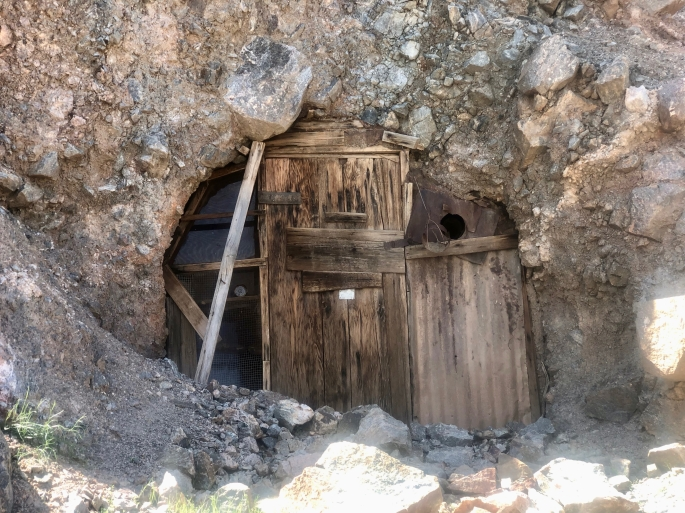 Would you walk through the door into the mine?