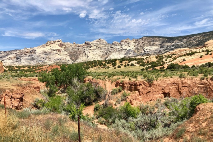 More of the scenery in the Utah (Quarry) side of the National Monument