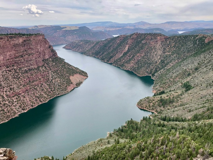 The Green River flows through Flaming Gorge NRA (and many other public lands)