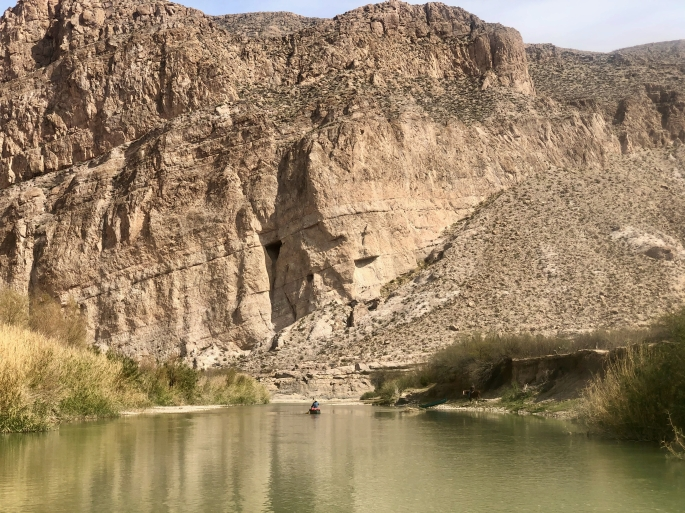 The beginning of Boquillas Canyon