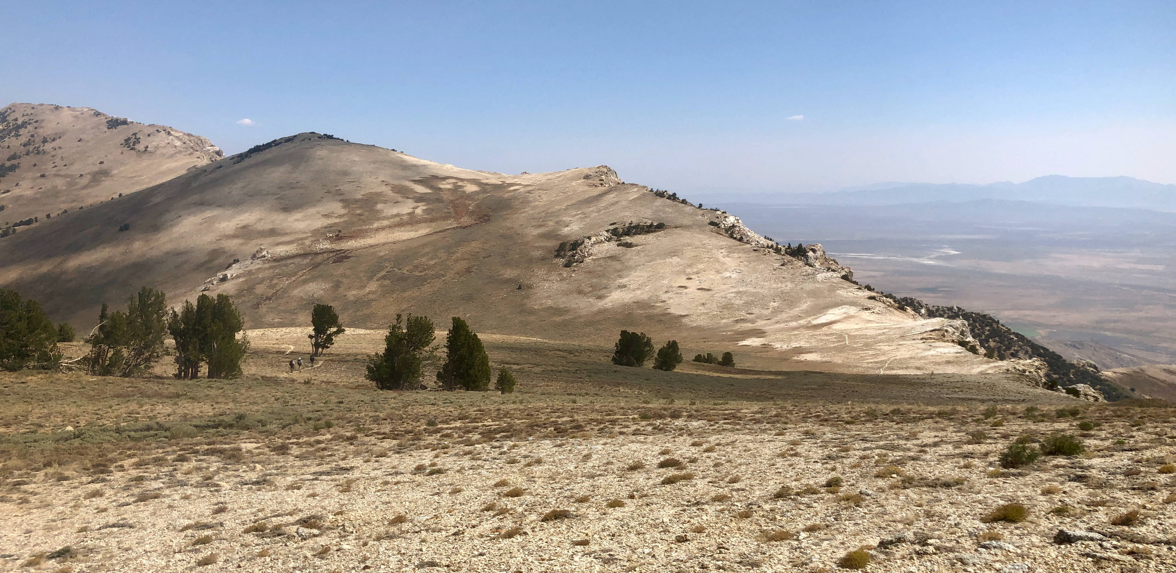 Here comes the high country: 11 miles without water