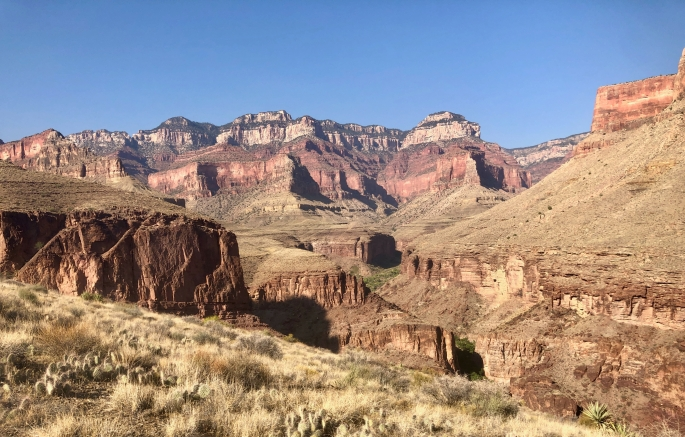You won't see this view of the North Rim in any standard source