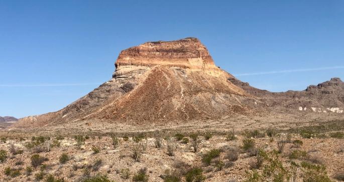 Cerro Castellan is an eye magnet